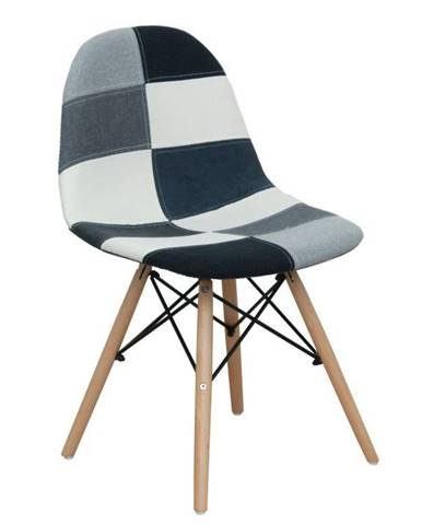 Candie 2 New Typ 3 jedálenská stolička vzor patchwork