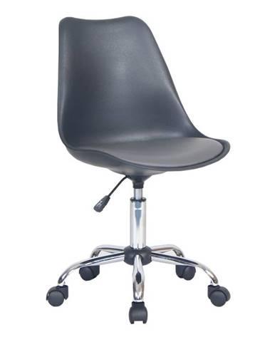 Darisa kancelárska stolička čierna