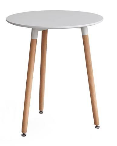 Elcan 60 okrúhly jedálenský stôl biela