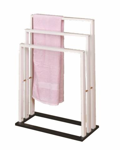 Komo New stojan na uteráky biela