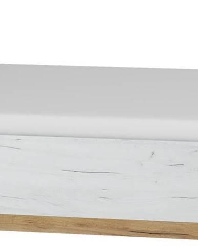Maximus MXS-18 160 manželská posteľ s roštom craft zlatý