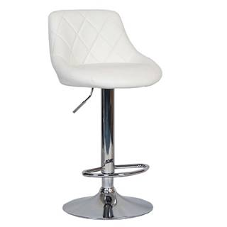 Marid barová stolička biela