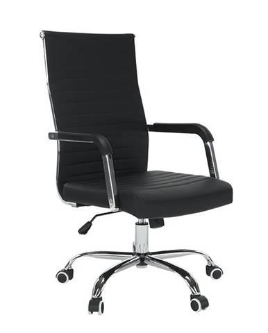 Faran kancelárske kreslo s podrúčkami čierna