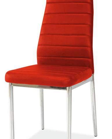 H-261 jedálenská stolička červená