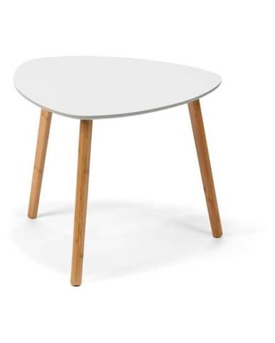Biely konferenčný stolík loomi.design Viby, 55 x 55 cm