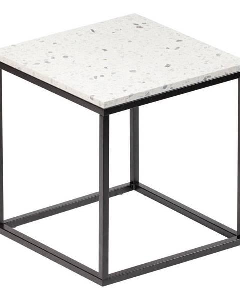 RGE Konferenčný stolík s kamennou doskou RGE Bianco