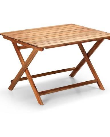 Záhradný skladací stolík z akáciového dreva Le Bonom