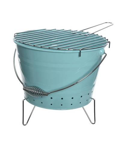 BBQ gril modrá, pr. 27 cm