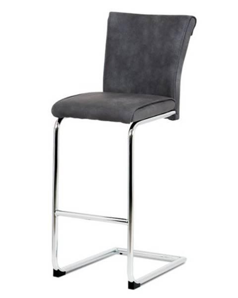 Sconto Barová stolička LUISA sivá