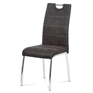 Jedálenská stolička GASELA tmavosivá