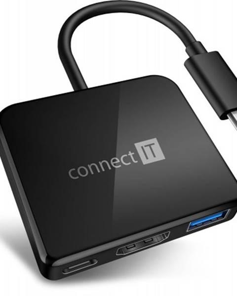 Connect IT Connect IT USB-C hub, 3v1