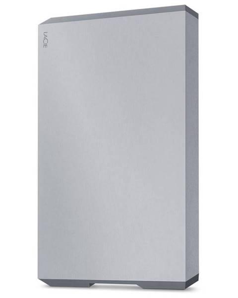 Lacie Externý pevný disk Lacie Mobile Drive 2TB, USB-C sivý