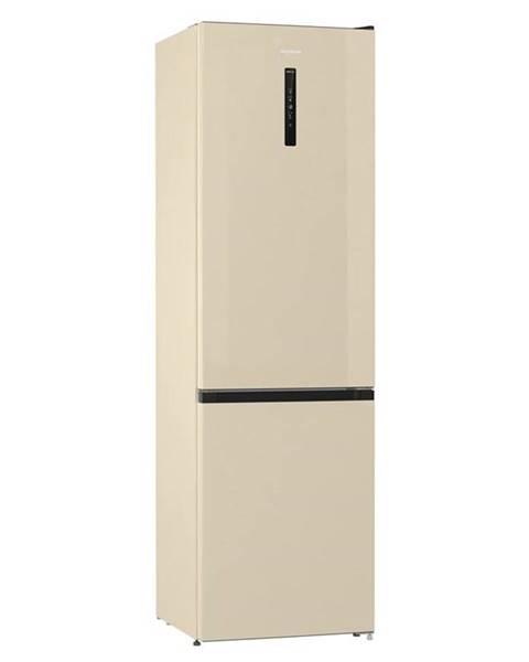 Gorenje Kombinácia chladničky s mrazničkou Gorenje Nrk6202ac4 béžov