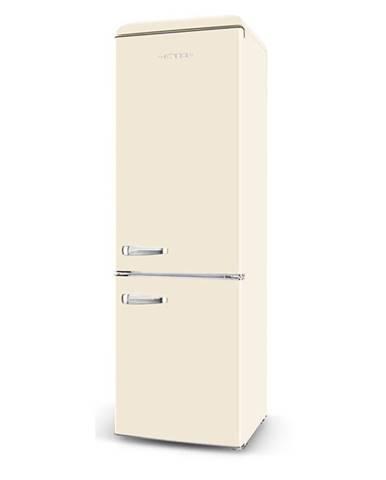 Kombinácia chladničky s mrazničkou ETA Storio 253090040E béžov
