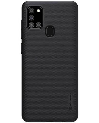 Kryt na mobil Nillkin Super Frosted na Samsung Galaxy A21s čierny