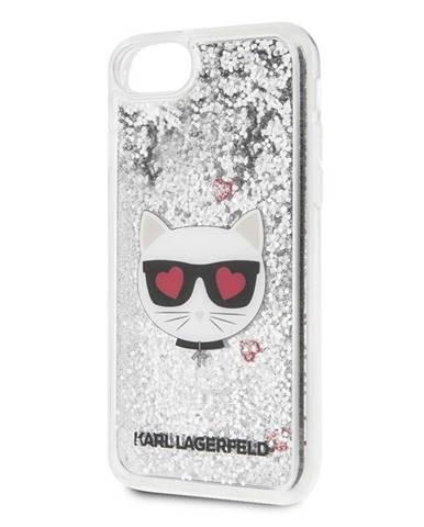Kryt na mobil Karl Lagerfeld Heads Glitter na Apple iPhone 8/SE