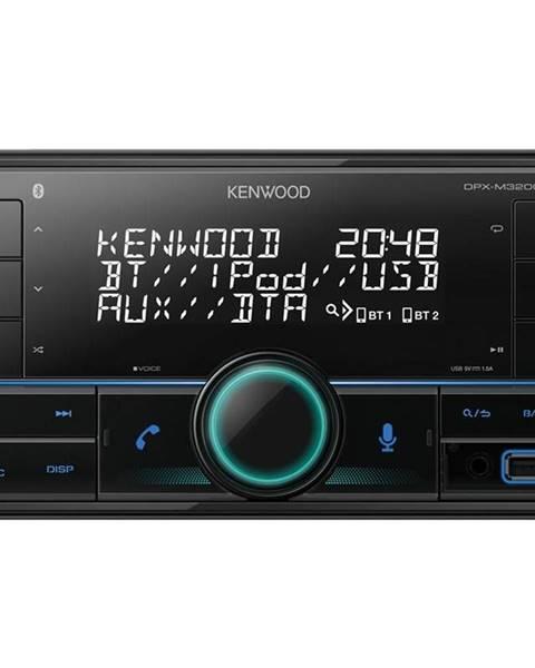 Kenwood Autorádio Kenwood DPX-M3200BT čierne