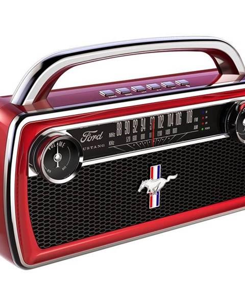 ION Prenosný reproduktor ION Mustang Stereo červen