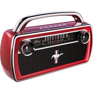 Prenosný reproduktor ION Mustang Stereo červen