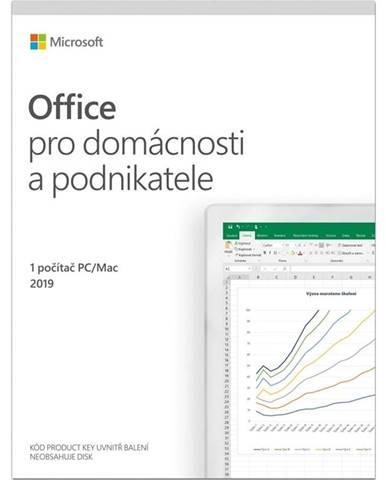 Software  Microsoft Office 2019 pro domácnosti a podnikatele CZ