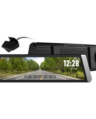 Autokamera CEL-TEC M10s Dual GPS Premium čierna/strieborn
