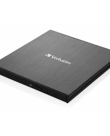 Externá Blu-ray napaľovačka Verbatim Slimline Ultra HD 4K USB-C