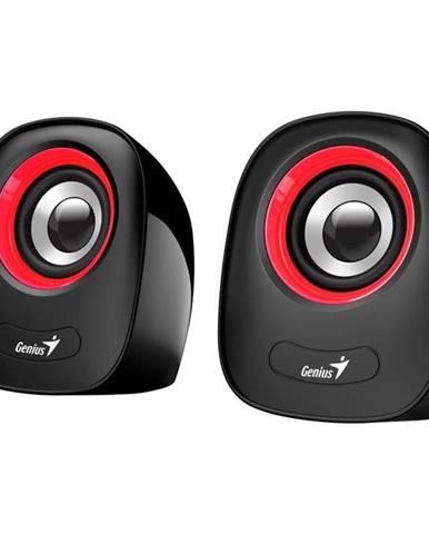 Reproduktory Genius SP-Q160 čierne/červené