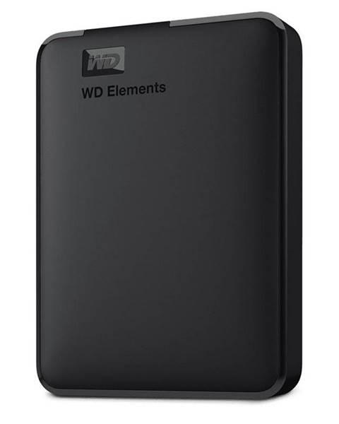 Western Digital Externý pevný disk Western Digital Elements Portable 3TB čierny