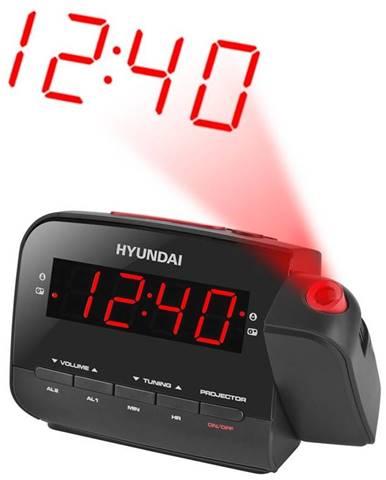 Rádiobudík Hyundai RAC 481 Pllbr čierny/červen