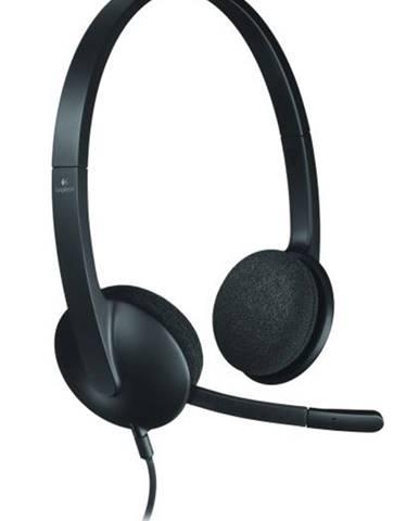 Headset  Logitech H340 USB čierny