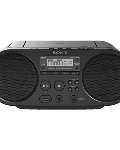 Rádioprijímač s CD Sony ZS-PS50B čierny