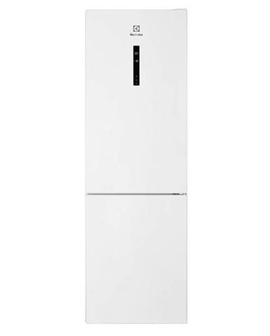 Kombinácia chladničky s mrazničkou Electrolux Lnc7me32w2 biela