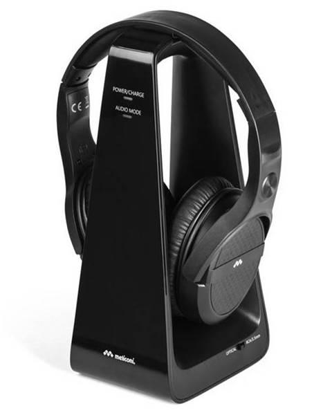 Meliconi Slúchadlá Meliconi HP Digital čierna