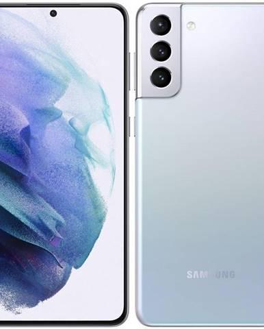 Mobilný telefón Samsung Galaxy S21+ 5G 128 GB strieborný