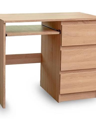 Písací stôl Leo II Sonoma