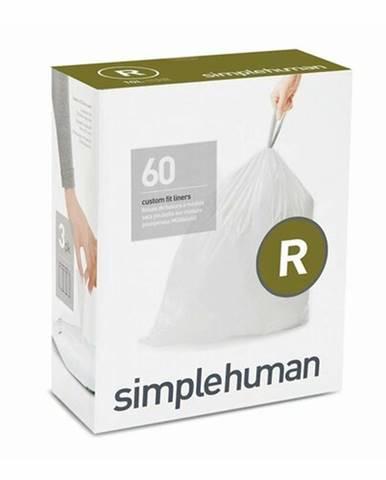 Simplehuman Príslušenstvo - Vrecia do odpadkového koša 10 l, typ R, 60 ks CW0253