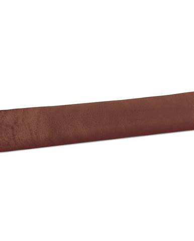 Bellatex Valec tesniaci LIN UNI hnedá, 90 x 15 cm