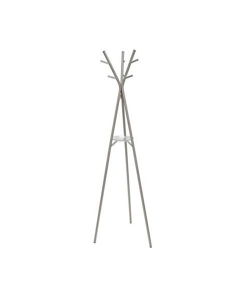Leitmotiv Oceľový stojací vešiak v bielej farbe Leitmotiv Deer