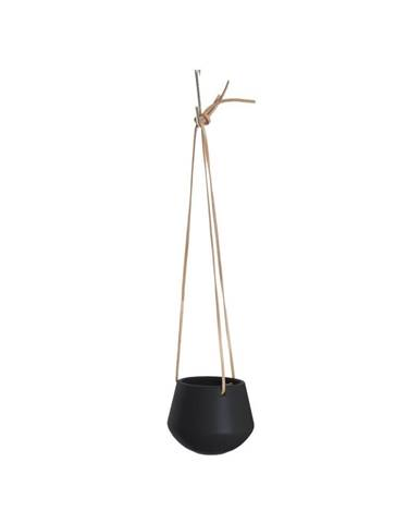 Čierny závesný kvetináč PT LIVING Skittle, ø12,2cm