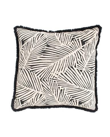 Čierno-biely záhradný vankúš Hartman Jungle, 50 x 50 cm
