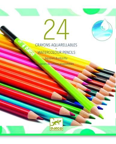 Sada 24 akvarelových pasteliek Djeco