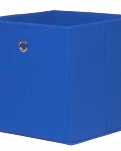 Úložný box Alfa, modrý%