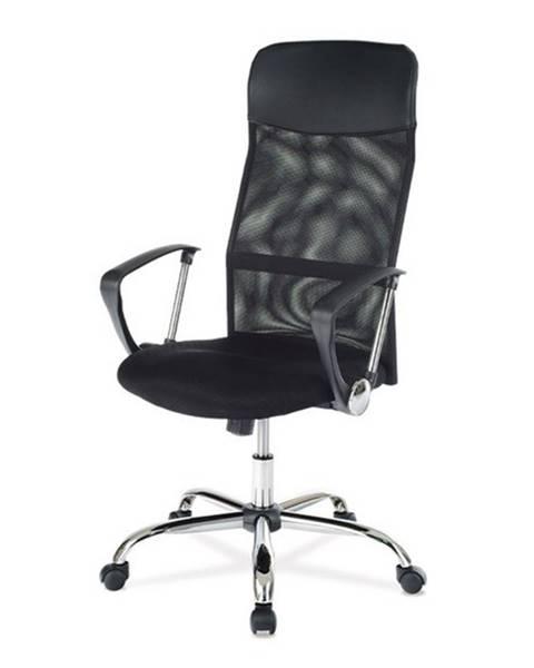 Sconto Kancelárska stolička SPENCER čierna