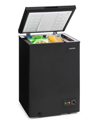 Klarstein Iceblokk 100, mraziaci box, mraznička, 100 l, 75 W, A+, čierna
