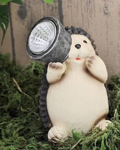 Solárna lampa Jež TYL199105-4 LED