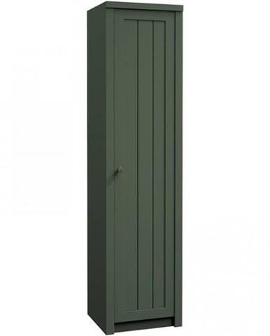 Skriňa Prowansja S1D green