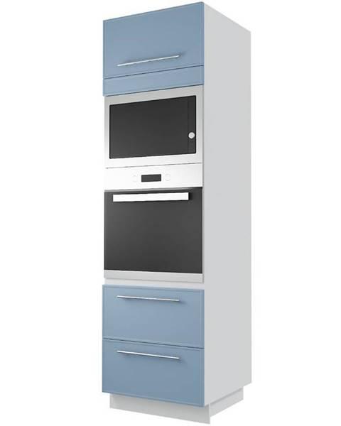 MERKURY MARKET Skrinka do kuchyne  Magnum D14 RU/2M - 286 denim/korp white