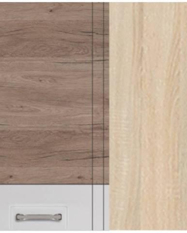 Skrinka do kuchyne Econo 44G Sonoma/Biely/San Remo