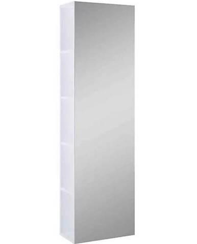Vysoká skrinka do kúpeľne Amoria biela