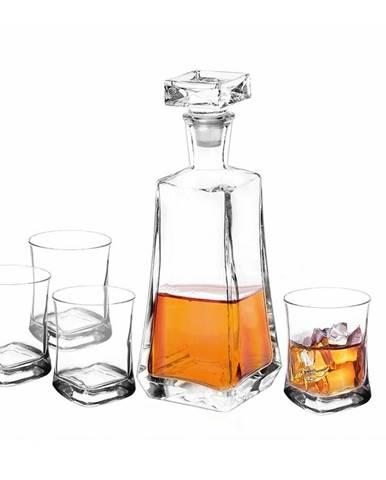 Altom 5-dielna sada karafy a pohárov na whisky